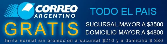 Envio Correo Argentino Sex shop